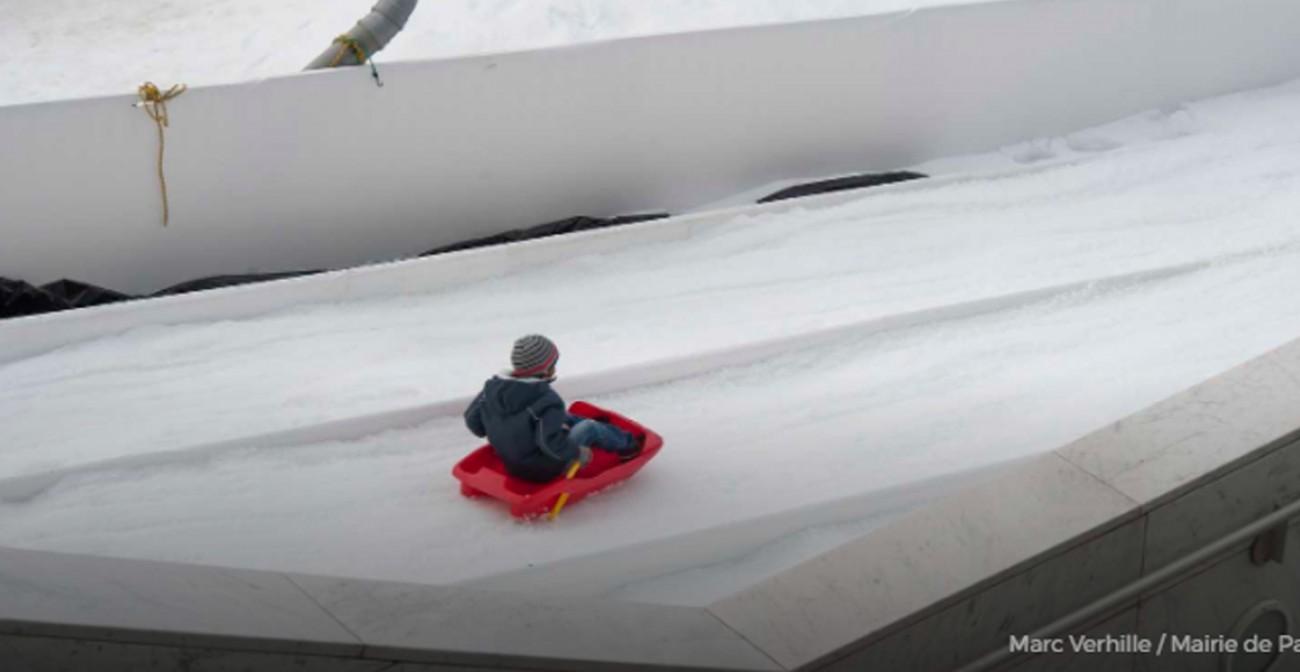 Lamuse charl ty sur neige no l avec des enfants for Sortie famille 78