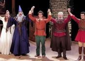 Merlin l'Enchanteur, Gymnase