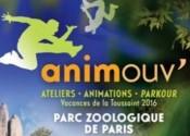 Les vacances au Zoo de Paris